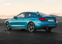 2020 BMW 4 Series Rear 3 Quarter View