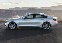 2019 BMW 4 Series Gran Coupe Left Side View