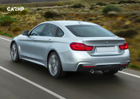 2019 BMW 4 Series Gran Coupe Rear 3 Quarter View