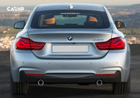 2019 BMW 4 Series Gran Coupe Rear View