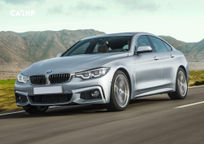 2019 BMW 4 Series Gran Coupe 3 Quarter View