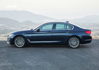 2019 BMW 5 Series Left Side View