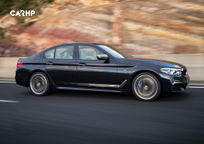 2019 BMW 5 Series Right Side View