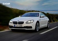 2020 BMW 6 Series Front View