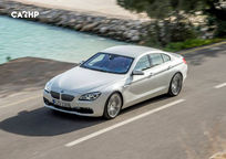 2020 BMW 6 Series Top View