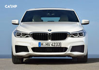 2019 BMW 6 Series Gran Turismo Hatchback Front View