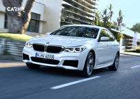 2019 BMW 6 Series Gran Turismo Hatchback 3 Quarter View