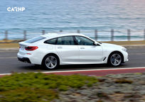 2019 BMW 6 Series Gran Turismo Hatchback Right Side View