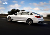 2019 BMW 6 Series Gran Turismo Hatchback Left Side View