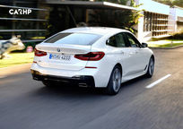 2019 BMW 6 Series Gran Turismo Hatchback Rear 3 Quarter View