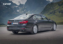 2018 BMW 7 Series plug-in hybrid Sedan's exterior image