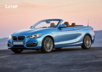 2019 BMW M240i Convertible's exterior image