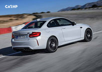 2020 BMW M2 Rear 3 Quarter View