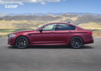 2019 BMW M5 Left Side View