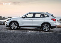 2019 BMW X1 Left Side View
