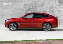 2019 BMW X4 Left Side View
