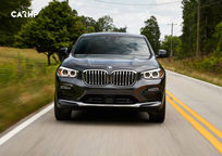 2019 BMW X4 Front View