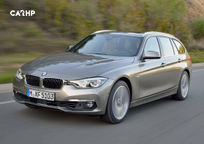 2017 BMW 3 Series diesel Wagon's exterior image