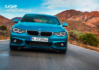 2020 BMW 4 Series Front View