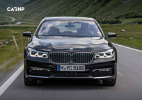 2019 BMW 7 Series Front View
