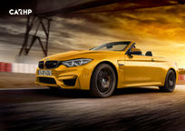 2019 BMW M4 Convertible's exterior image