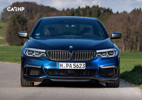 2019 BMW M550i Front View