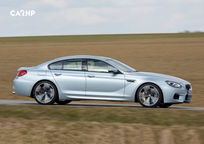 2019 BMW M6 Right Side View