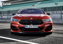 2019 BMW M850i Front View