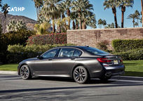 2019 BMW M760i Left Side View