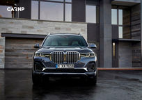 2019 BMW X7 Front View