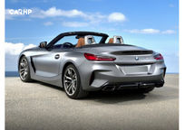 2019 BMW Z4 Rear 3 Quarter View