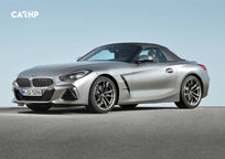 2019 BMW Z4 3 Quarter View