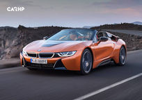 2019 BMW i8 plug-in hybrid Convertible's exterior image