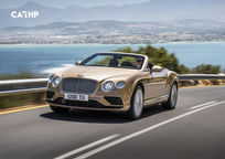 2018 Bentley Continental GT's exterior image
