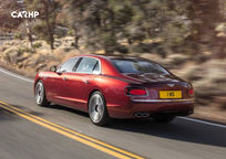 2018 Bentley Flying Spur Rear 3 Quarter View