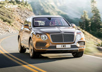 2020 Bentley Bentayga Front View