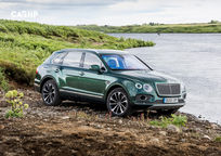 2020 Bentley Bentayga 3 Quarter View