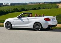 2018 BMW 2 Series Convertible Left Side View
