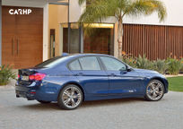 2017 BMW 3 Series Sedan's exterior image