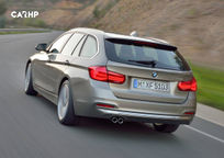 2017 BMW 3 Series Wagon's exterior image