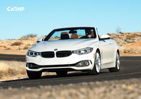 2017 BMW 4 Series Convertible Front View