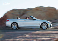 2017 BMW 4 Series Convertible Right Side View