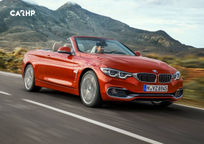 2018 BMW 4 Series Convertible's exterior image