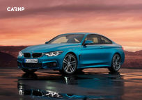 2018 BMW 4 Series 3 Quarter View