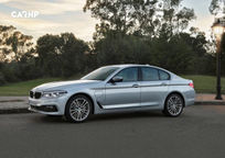 2018 BMW 5 Series Left Side View