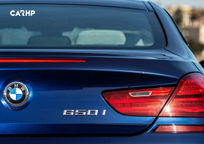 2017 BMW 6 Series Coupe's exterior image