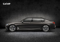 2017 BMW 7 Series plug-in hybrid Sedan's exterior image