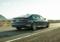 2018 BMW ALPINA B7 Rear 3 Quarter View