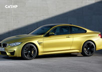 2017 BMW M4 Left Side View