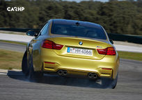 2017 BMW M4 Rear View